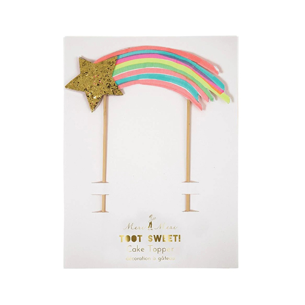 shooting star cake topper_ME5103