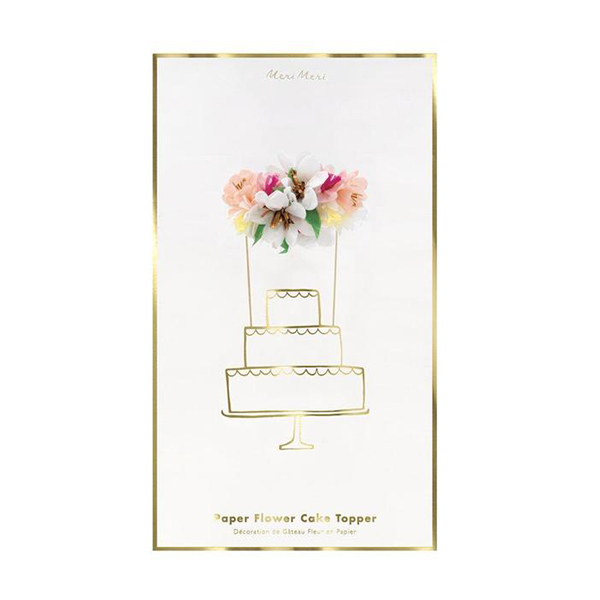 Flower Bouquet Cake Topper_ME205354