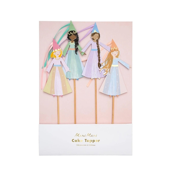 Magical Princess Cake Toppers (4개 세트)_ME192157