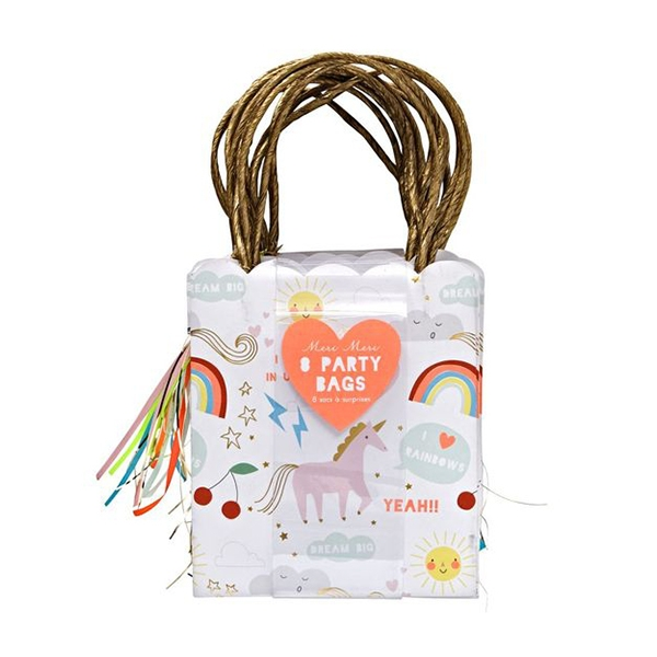 Rainbow & Unicorn Party Bags_ME3266