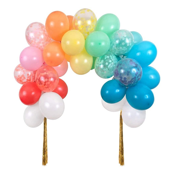 Rainbow Balloon Arch Kit(40개 세트)_ME203456